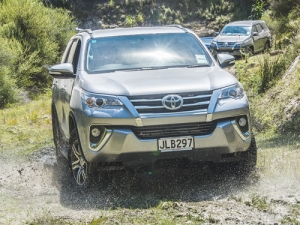 The new Fortuner is described as a 'medium-rugged' SUV.