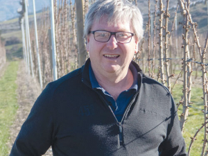 Summerfruit NZ chairman and general manager of the 45South cherry orchards Tim Jones.