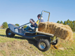 The e3 quad may suit those farmers wanting to be environmentally friendly.