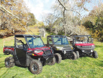 Polaris rugged Ranger trio offers a variety of choices