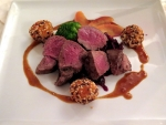 Venison is traditionally seen as a fall or winter dish in Europe.