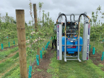 The BA Smart Sprayer reduces spray inputs and spray loss beyond crop canopies.