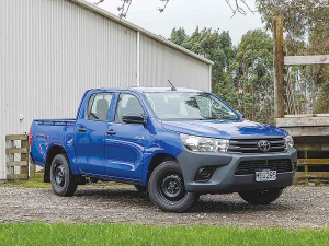 Toyota Hilux WorkMate.