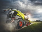 The new Claas Jaguar.
