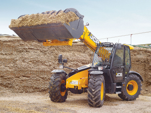 JCB Loadall.