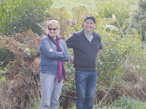 Ballance Farm Environment Awards Waikato supreme winners Mark and Felicity Brough.