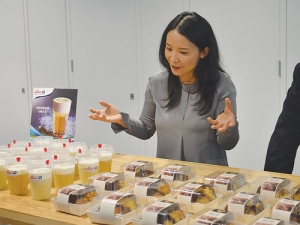 Fonterra Greater China president Christina Zhu in Auckland last week.