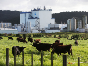 Fonterra is helping in producing hand sanitiser.