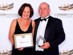 Supreme winners: Coastal Spring Lamb owners Suze and Richard Redmayne.