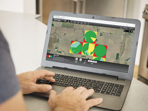 FieldNet controls all irrigation products from a mobile or laptop.