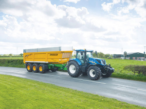 New Holland's T7 Series has been updated.