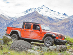The new Jeep Gladiator is due to arrive on the NZ market in August.