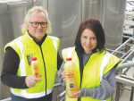 The Apple Press's Ross Beaton and Sally Gallagher say they have a simple business objective: making apple juice great again!