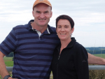South Canterbury dairy farmers John and Cara Gregan.