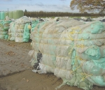 Silage wrap recycling trending upward