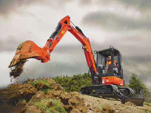 The KX033-4 is said to offer efficiency, stability and comfort – alongside power and style.