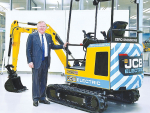 Electric excavator a world first