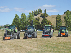 Deutz Fahr tractors help keep Duane Crow's business moving.