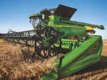 John Deere's X Series combine harvesters recently received a CES Innovation Award.