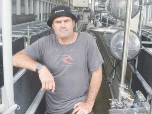 Kevin Schuler says milking cows, goats and sheep on one farm has been a steep learning curve.