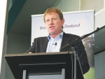 John Wilson at the Northland Dairy Development Trust Conference last week.