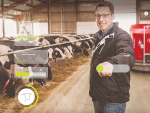 Lely Horizon helps farmers crunch data from its robots.