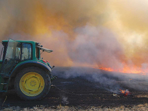 Are you using best practise around crop residue burning?