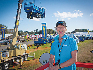 Central Districts Field Days sales manager Cheryl Riddell.