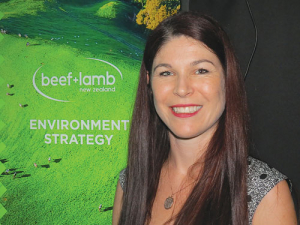 BLNZ's environmental strategy manager Julia Beijeman.