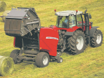 Massey Ferguson's RB variable baler.