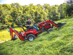 MF's newly announced GC1700 Series sub-compact range will feature similar styling to the larger tractors under the Massey Ferguson banner.