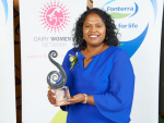 2018 Fonterra Dairy Woman of the Year Loshni Manikam.