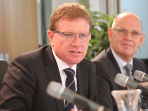 Fonterra chairman John Wilson (pictured) says all of the 50c increase has been passed to farmers as an advance.