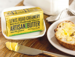 Lewis Road Creamery butter is now available in Texas and California.