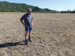 Golden Bay Federated Farmers President Wayne Langford says the top-of-the-South drought is starting to bite.
