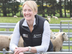 North Otago sheep breeder Jane Smith.