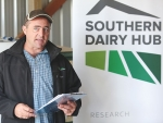 Southern Dairy Development Trust chairman Matthew Richards.