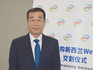 Jianqiu Zhang, Yili Group chief executive.