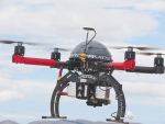 Drones are new technology being used on farm.