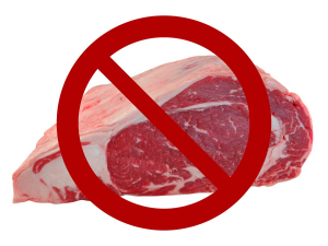 Beef bans are becoming more popular at universities.