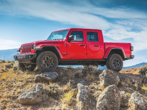 The Jeep Gladiator will be available in NZ in 2020.
