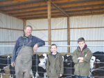Unique Christmas calving boosts milk production