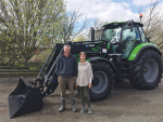 Ross and Averill Smart have relied on Deutz Fahr tractors to help run their Mid Canterbury cropping farm for the past 35 years.