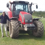 John Smith says the tractors are good value for money.