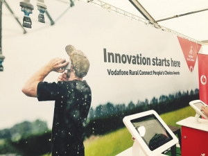 Fieldays visitors used 50% more data than last year, says Vodafone.
