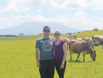 Opunake dairy farmers Kenneth and Rachel Short say entering the awards was a great challenge for them.