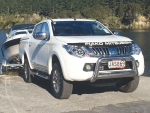 The new Mitsubishi Triton ute no 'bone-shaking' ride.