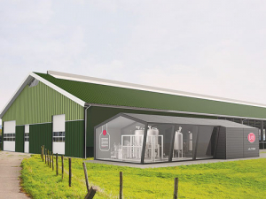 Lely hopes its Orbiter will become a feature of robotic farms around the world.