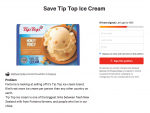 Save Tip Top ice cream!