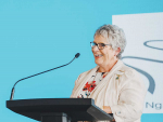 RWNZ national president Gill Naylor said the organisation would be joining the fight against ovarian cancer in a webinar last week.